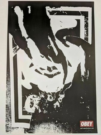 Lithographie Fairey - Obey (Ripped)