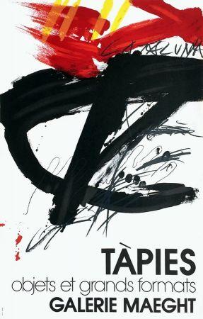 Lithographie Tàpies -