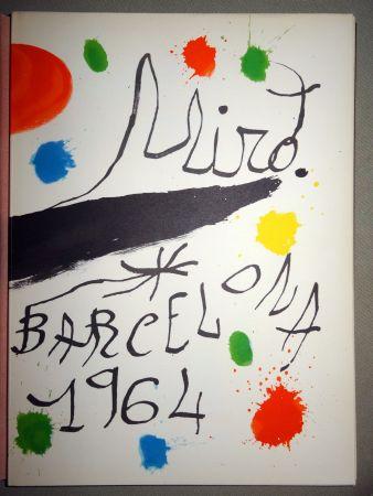 Livre Illustré Miró - Obra Inèdita recent