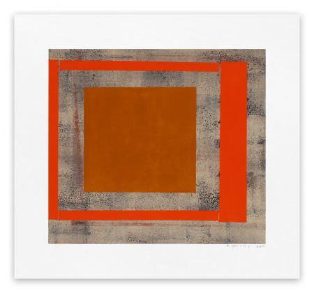 Monotype Gourlay - Ochre red ash