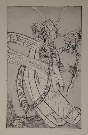 Lithographie Thomkins - Ochsenzöllner.