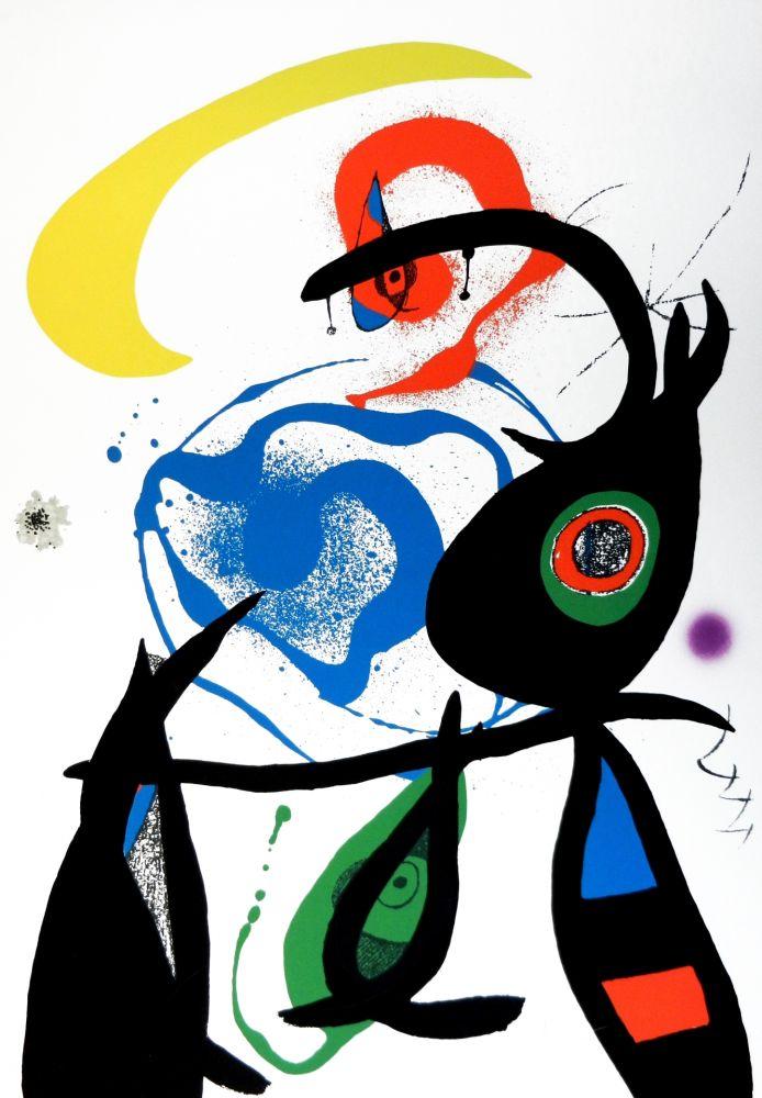 Lithographie Miró - Oda a Joan Mirò