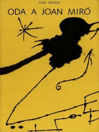 Livre Illustré Brossa - Oda a Joan Miró