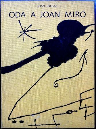 Livre Illustré Miró - Oda a Joan Miró