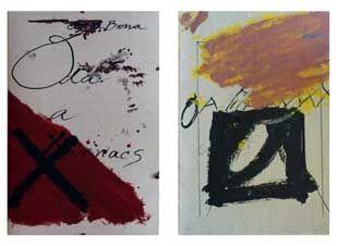 Livre Illustré Tapies - Oda a Lluis Maria Xirinacs