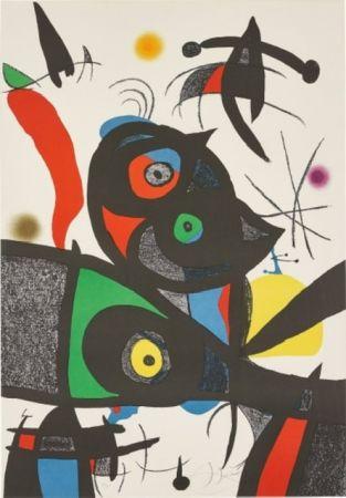 Lithographie Miró - Oda Joan MIRO