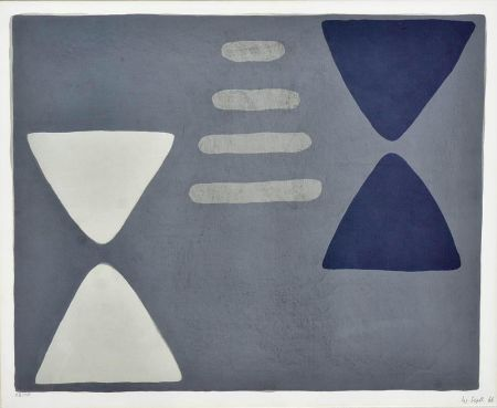 Lithographie Scott - Odeon Suite VI