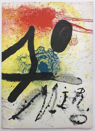 Livre Illustré Miró - Oeuvre graphique original - céramiques (1961)