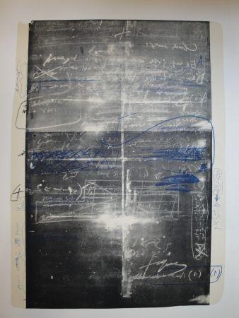 Lithographie Tàpies - Oeuvre gravé