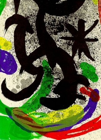 Livre Illustré Miró - Oeuvre gravé et lithographié