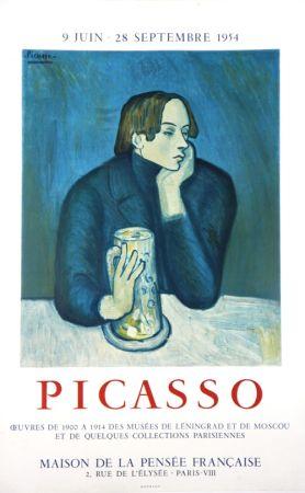 Lithographie Picasso - Oeuvres des Musées de Leningrad et Mouscou