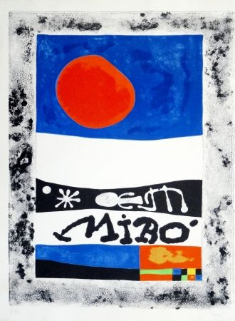 Lithographie Miró - Oeuvres récentes, 1953