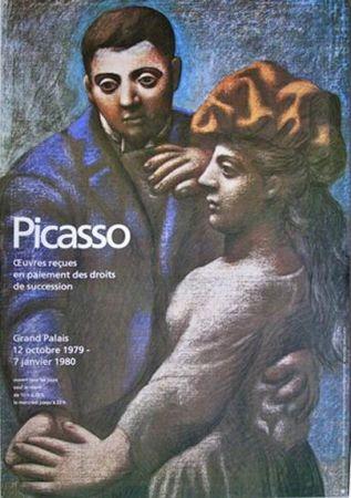Affiche Picasso - '' Oeuvres Recues en Paiement des droits de Succession ''