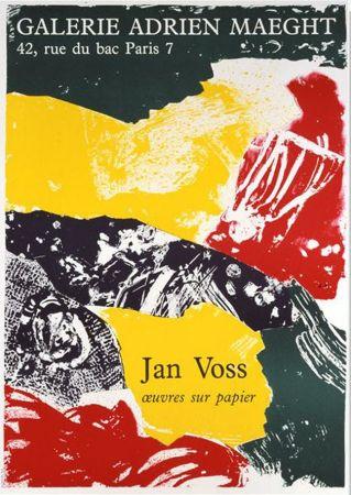 Lithographie Voss - '' Oeuvres sur Papier ''