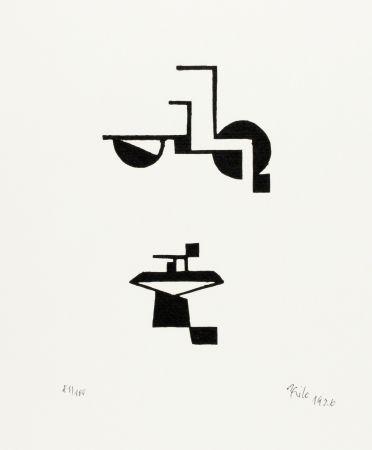 Gravure Sur Bois Maatsch - Ohne Titel (No Title)