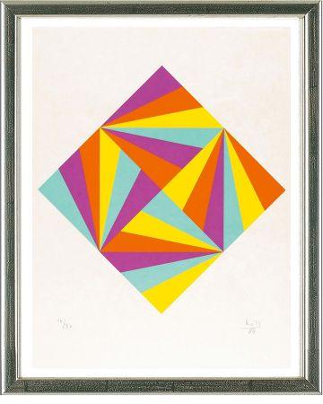 Sérigraphie Bill - Ohne Titel (Rhombus)