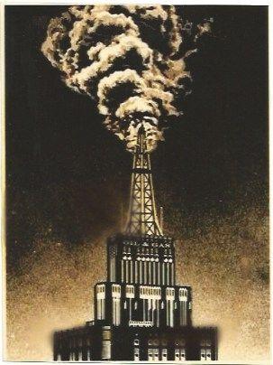 Sérigraphie Fairey - Oil & Gas Building