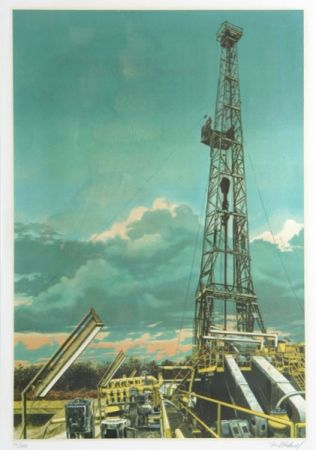 Sérigraphie Blackwell - Oil Well