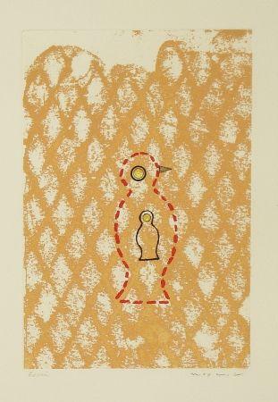 Eau-Forte Et Aquatinte Ernst - Oiseau