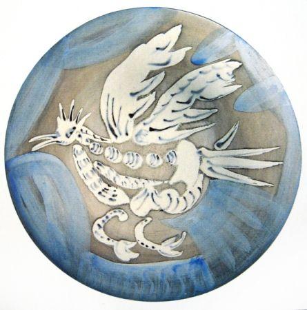 Céramique Picasso - Oiseau 91