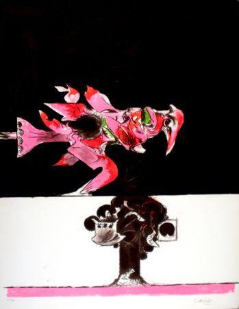 Lithographie Sutherland - Oiseau de feu II