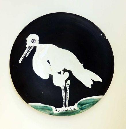 Céramique Picasso - Oiseau n° 83