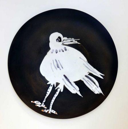 Céramique Picasso - Oiseau n° 93