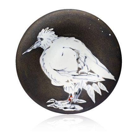Céramique Picasso - Oiseau No. 76 (Bird No. 76), 1963