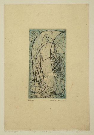 Eau-Forte Et Aquatinte Ernst - Oiseau Vierge