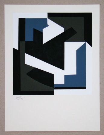 Sérigraphie Vasarely - Olbio II.