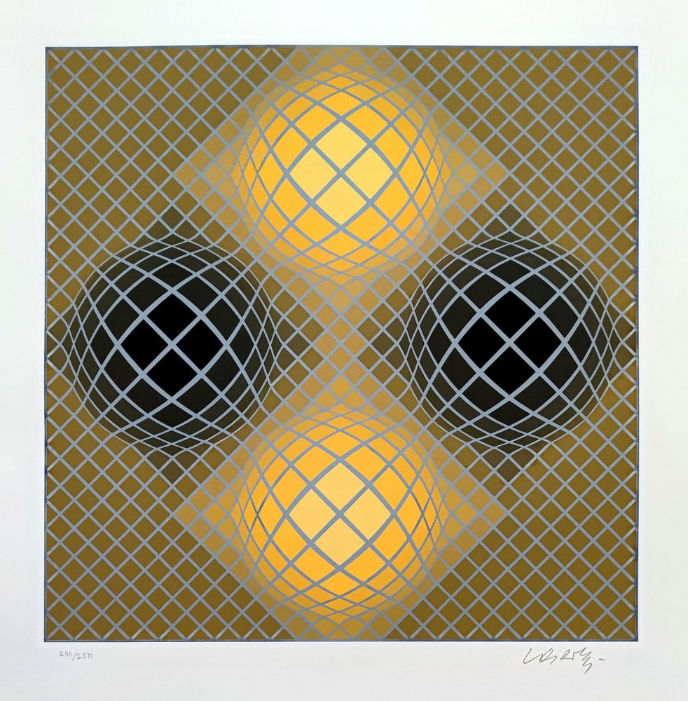 Multiple Vasarely - Olla