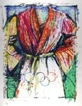 Lithographie Dine - Olympic Robe