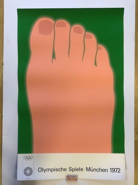 Affiche Wesselmann - Olympische spiele munchen 1972