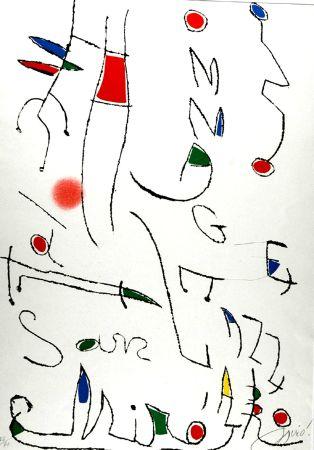 Eau-Forte Et Aquatinte Miró - Omage a San Lazzaro
