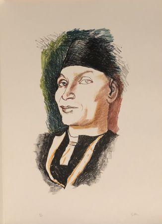 Lithographie Guttuso - Omaggio a Antonello da Messina