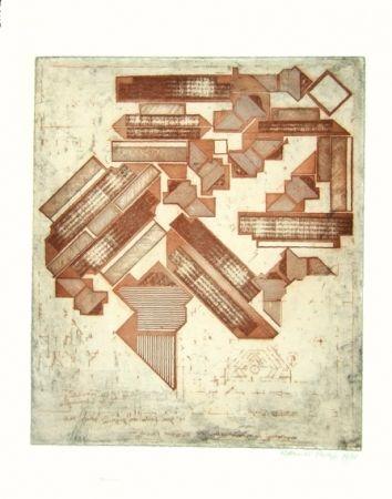 Gravure Paolozzi - Omaggio a Michelangelo