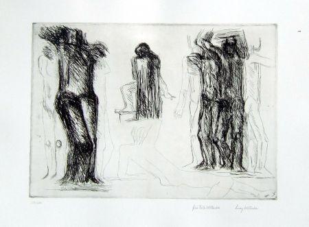 Gravure Wotruba - Omaggio a Michelangelo