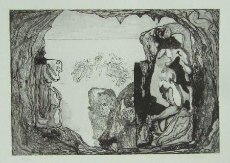 Eau-Forte Castillo - Omaggio a Michelangelo