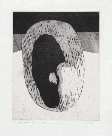 Lithographie Dmitrienko - Ombre I