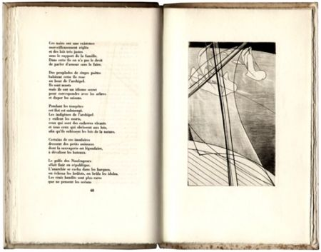 Livre Illustré Hayter - Ombres Portées