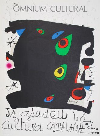 Lithographie Miró - Omnium cultural