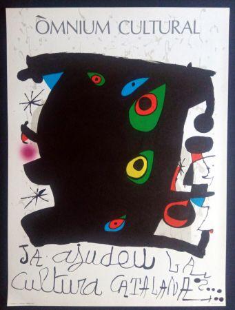 Affiche Miró - Omnium Cultural - Ja ajudeu la cultura catalana