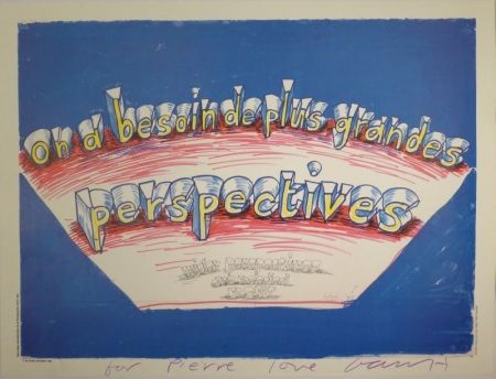 "Offset Hockney - ""on a besoin de plus grandes perspectives / wider perspectives are needed now"""