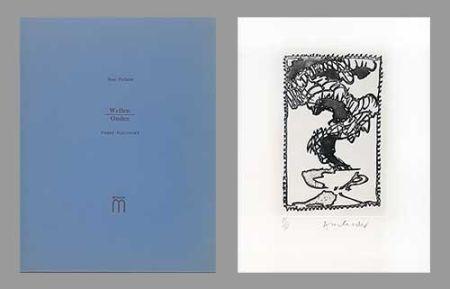 Livre Illustré Alechinsky - Ondes