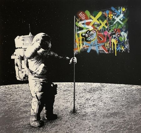 Sérigraphie Whatson - One Small Step