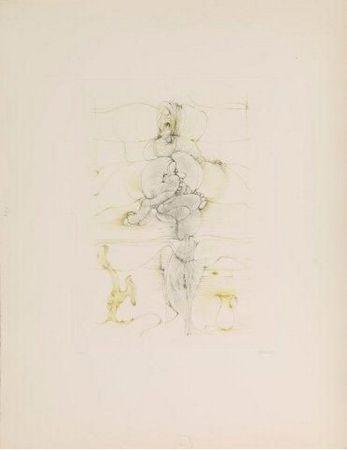 Gravure Bellmer -  Onze Heure Et Demie