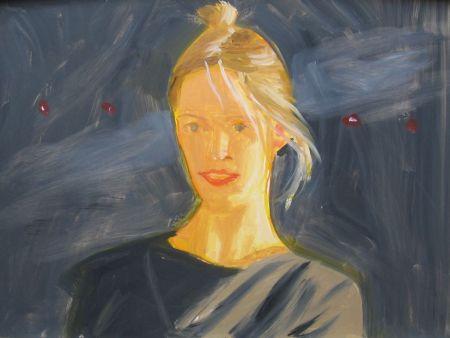 Aucune Technique Katz - Oona (Small Painting)