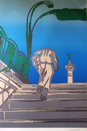 Lithographie Recalcati - Opus 74