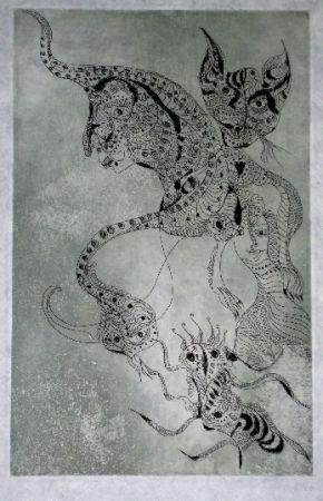 Eau-Forte Et Aquatinte Zurn - Oracles et spectacles (2)