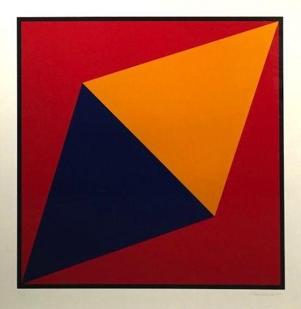 Sérigraphie Hinman - Orange Triangle
